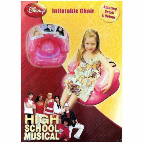 High school musical inflatable chair 'prom' design per bambini divano poltrona