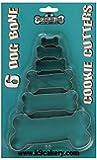 K9 Cakery Metal Cookie Cutters-Dog Bone