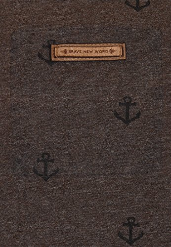 Naketano Male Sweatshirt Path Of The Dark Side III Heritage Anthracite Melange