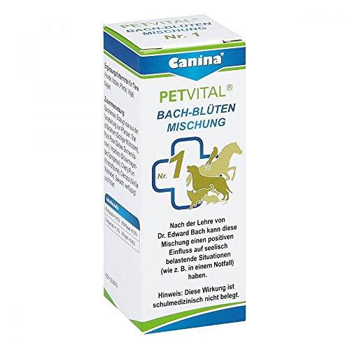 Petvital Bachblüten Nummer 1 Globuli veterinär 10 g