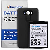 Mbuynow LG G3 9600mAh Extended Battery with Protective Black Case Cover (180 Days Warranty Guarantee)