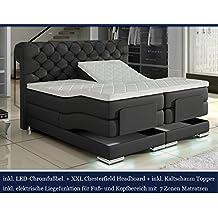 suchergebnis auf f r boxspringbett 180x200 elektrisch. Black Bedroom Furniture Sets. Home Design Ideas