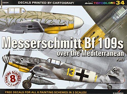 Messerschmitt Bf 109s Over the Mediterranean. Part 1 (Mini Topcolors) por Maciej Goralczyk