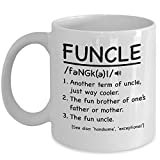 Funcle Mug Funny Best Uncle Or Brother Gift - Best Reviews Guide