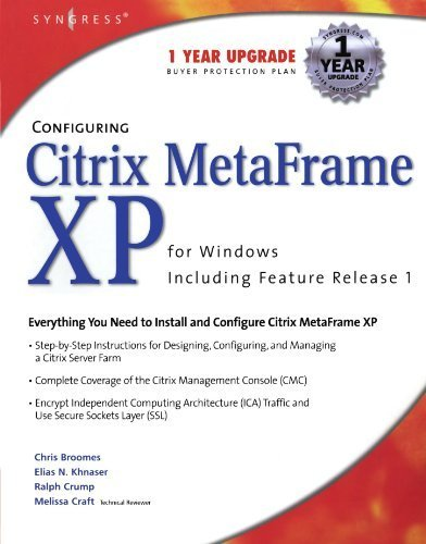 Configuring Citrix Metaframe XP for Windows by Syngress (2002-06-15)