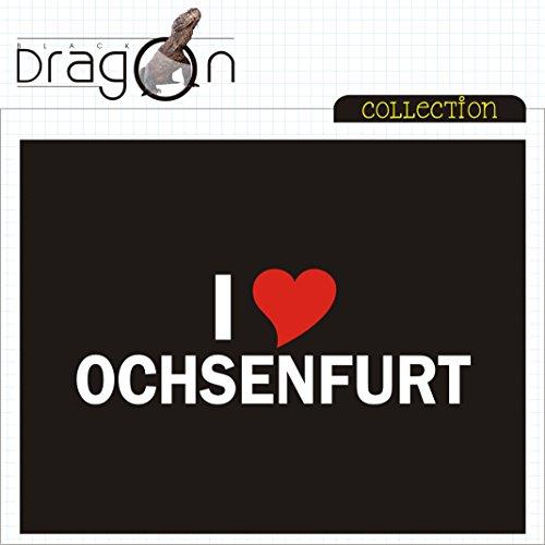 T-Shirt - i Love Ochsenfurt - Herren - unisex Schwarz