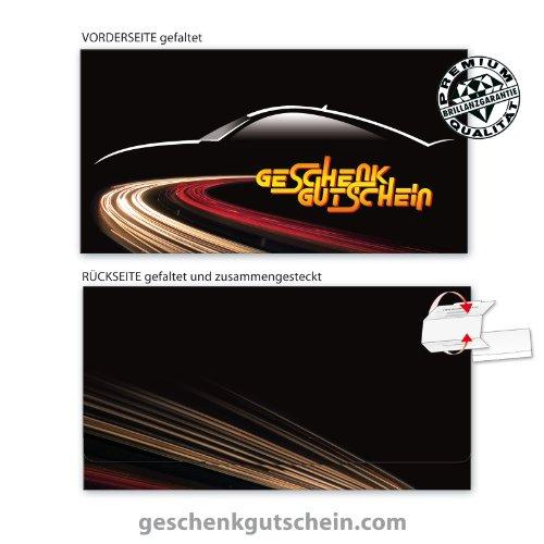 10 Stk. Premium Faltgutscheine Multicolor für Tankstellen, Werkstätten, Servicestationen TK219, LIEFERZEIT 2 bis 4 Werktage !