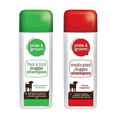 pride-groom-cherry-scent-medicated-dog-shampoo-flea-tick-dog-shampoo-400ml