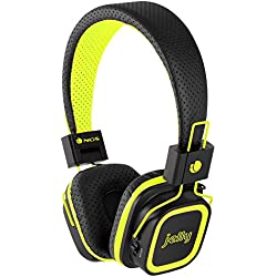 [Cable] NGS Artica Jelly - Auriculares micro Bluetooth, color amarillo