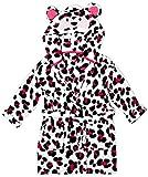 Animal Girls Monkey Face Hood Fleece Dressing Gown Hooded Bathrobe Sizes from 2 to 11...