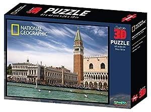 Prime 3D-PRIME-3D 500 Piezas San Marco Venezia Puzzle, Multicolor, 0670889101374