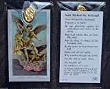 St Michael the Archangel ~ Prayer Card and Medal