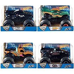 Hot Wheels - Vehiculos monster jam 1:24 (Mattel CBY61)