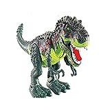 TianranRT Kinder Spielzeug Gehen T-Rex Dinosaurier Spielzeug Figur Mit Licht und Töne Echte Bewegung