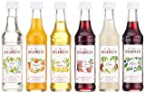 Produkt-Bild: MONIN Mini Cocktail Set 6 x 50 ml Box mit Rezeptheft