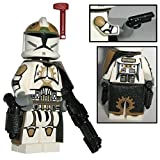 Custom Brick Design CBD 87th Star Corps Legion Sergant Clone Trooper Offizier Figur aus Lego Star Wars & Custom Teilen Gefertigt