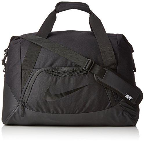 che FB Shield Duffel, Black, 49.5 x 25.5 x 30.5 cm, 60 L, BA5084-001 (Nike Schuh Tragetasche)