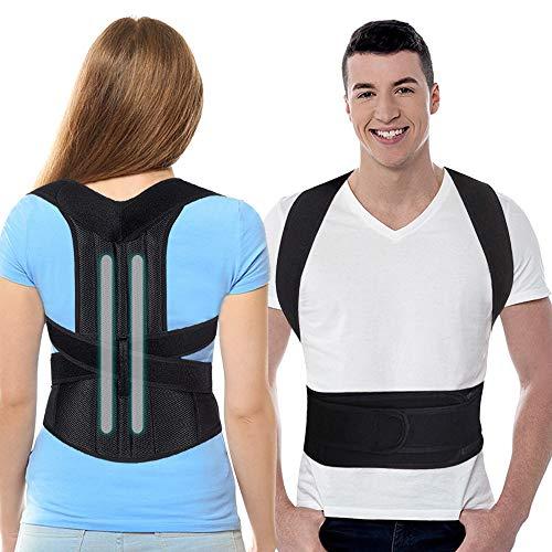 SYOSIN Geradehalter zur Haltungskorrektur, Haltungstrainer Rückentrainer Schulter Rücken Rückenstütze Corrector Posture für Damen Herren und Kinder (Geradehalter3)