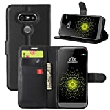 HualuBro LG G5 Case, Premium PU Leather Wallet Flip Phone