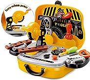 FunBlast Tool Set Toys for Kids, (Set of 31 Pcs) Pretend PlaySet, Role Play Engineer Workshop Tool Kit