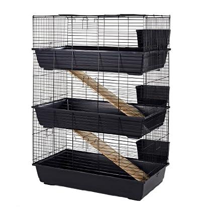 Little Friends Rabbit Cage, Triple, 100 cm 1