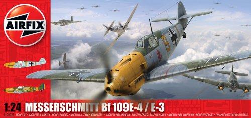 Airfix-A12002A-Modellbausatz-Messerschmitt-Bf-109-E