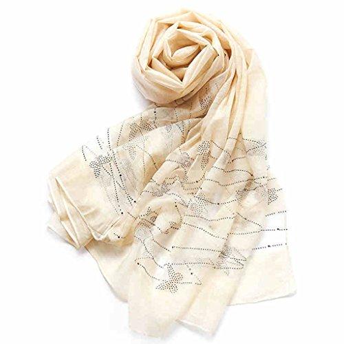 serviette de plage Lady Color Scarf Shawl Echarpe à la mode double serviette de plage ( Couleur : E ) C