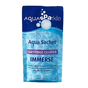 AquaSparkle Immerse Filter Cleaner 100g Hot Tub Spa Spas Tubs Brite … (1 x 100g)