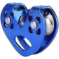 Kee nso Equipo de maquinaria en Forma de corazón de Doble polea de Doble Eje(Azul)