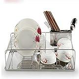 Rack di stoccaggio Supporto da piatto in acciaio inox Piatto di scarico di piattino per piatti monolayer