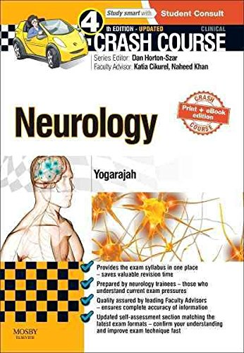 [(Crash Course Neurology)] [By (author) Mahinda Yogarajah ] published on (February, 2015)