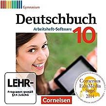 Deutschbuch Gymnasium 10. Schuljahr - Übungs-CD-ROM zum Arbeitsheft: Zu den Neubearbeitungen: Allgemeine Ausgabe, Hessen, Niedersachsen, Nordrhein-Westfalen, Rheinland-Pfalz