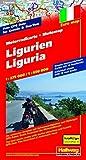 Motomap Ligurien 1 : 275 000 / 1 : 650 000: Die schönsten Strecken mit Sehenswürdigkeiten und Herbergen. GPS-Daten: Gratis Download der Motorradtouren (Hallwag Freizeitkarten) - Hallwag