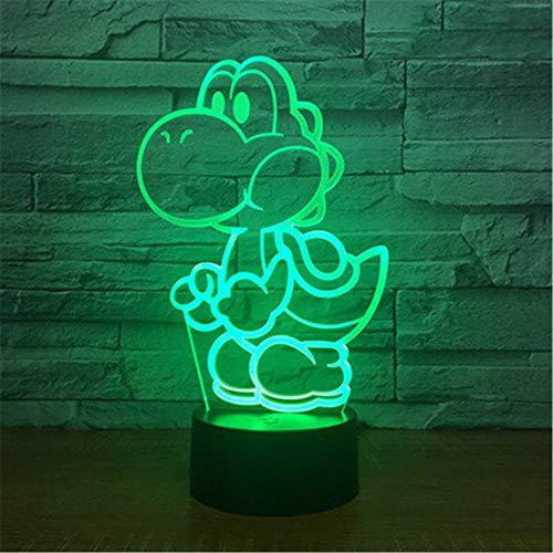 Nachtlichter Pokemon Serie 3D Nachtlicht bunte Touch Fernbedienung Induktion LED-Licht USB Geschenk Tischlampe bunt: Riss Fernbedienung + Touch - Se Billig 3 Serie