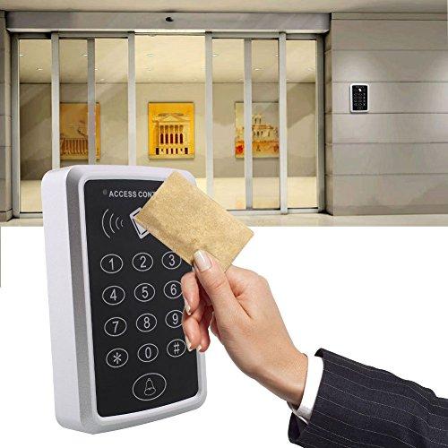 Hanbaili 125 Koh RFID Sicherheitstür Leser Karte mit Tastatur Mini Portable Proximity Intelligent Access Control Machine Rfid Türschloss-kit