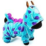 XL- Hundemantel Hoodie Pet Bubble Dragon Flanell-Winterkleidung warm und weich für mittlere Hunde-Outfits (größe : Xs)