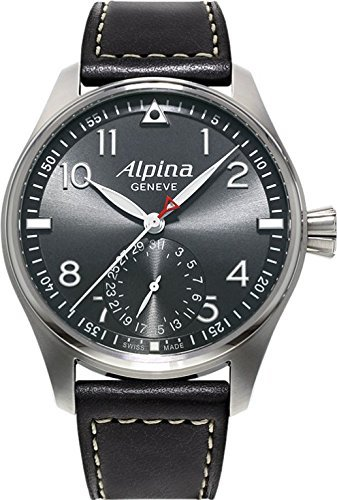 Alpina Alpina Startimer Pilot Herstellung Automatisch Grau Zifferblatt Mens Watch AL-710G4S6