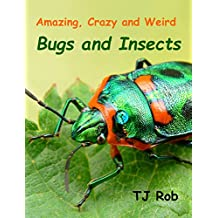 Amazing, Crazy and Weird Bugs and Insects: (Age 6 and above) (Amazing, Crazy and Weird Animal Facts Book 3)