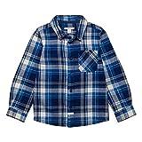 ESPRIT KIDS Jungen Hemd Woven Shirt, Blau (Dark Ocean Blue 482), 92