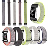 Gugou Kompatibel Mit Fitbit Charge 2 Strap, Gewebte Nylon Zubehör Ersatz Band Sport Armband Für Fitbit Charge 2