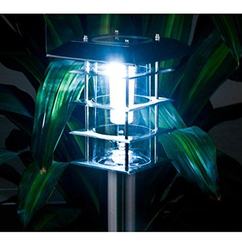 GRFH Solar Garten Beleuchtung Rasen Lampe Solar Lampe Hof Lampe Garten Lampe Outdoor Induktionslampe Villa Straßenlaterne Led Licht