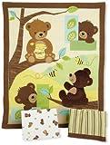 Best Bedtime Originals Bumpers - Lambs & Ivy Bedtime Originals Honey Bear Bedding Review