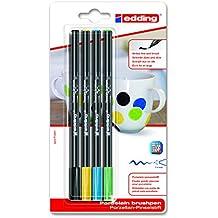 Porcelana de pincel lápiz 42004colores | Negro Amarillo Azul Verde