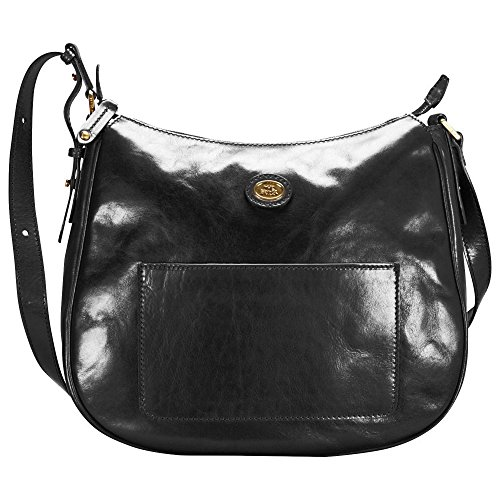 The Bridge Story Donna Sac bandouliére cuir 35 cm schwarz