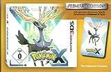 Pokémon X 3DS DEUTSCH PREMIUM EDITION mit Schutzhülle / Soft Etui für die Konsole LIMTED EDITION