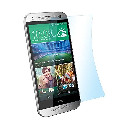 doupi Ultrathin Schutzfolie für HTC ONE Mini 2 (M5), matt entspielgelt optimiert Bildschirm Schutz (9X Folie in Packung)