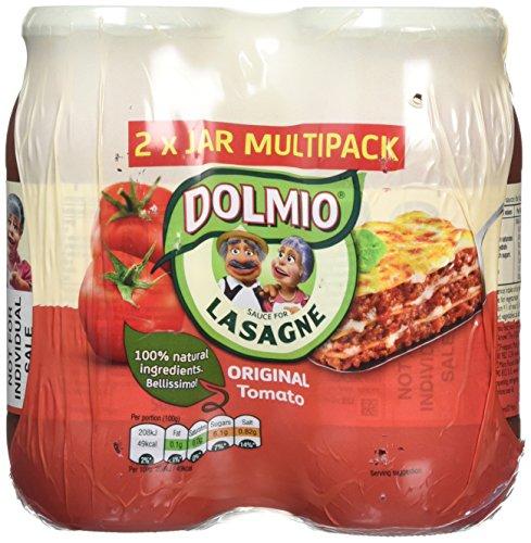 DOLMIO Lasagne Original Tomato Sauce, 1000 g