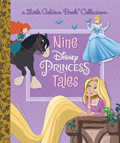 Nine Disney Princess Tales (Disney Princess) (Little Golden Book Collection) por Random House Disney