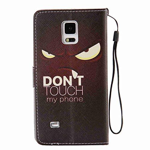 Guran® PU Leder Tasche für Apple iPhone 6 / 6S (4,7 Zoll) Smartphone Flip Deckung Stehen Funktion und Karte Slot Case-Löwenzahn -Mädchen color2