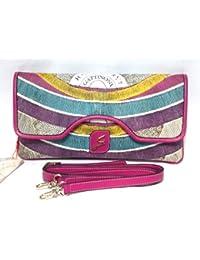 Gattinoni Mujer Atena Shoulder Bag Pochette Bolsa Bandolera a mano fucsia Cm 30x16x3